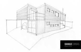 Com projeto de Danilo Corbas, a casa no Paraná foi edificada com seis contêineres marítimos. A área total é de 240 m²