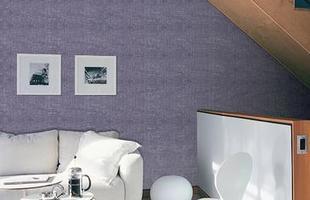 Texturas conferem charme à decoração unindo durabilidade, estética e bom custo. Efeitos podem ser usados tanto em ambientes internos quanto nas áreas externas. Na foto, aspecto jeans