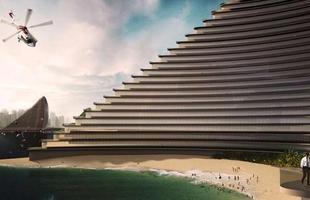 Cidade autossustentável terá construções até sobre o mar. Desenvolvido pelo escritório italiano de arquitetura Luca Curci, o projeto 'Cidades Orgânicas' revela uma série de edificações em perfeita sintonia com a natureza