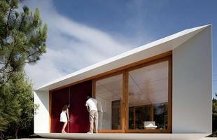 Casa 'ajustável' custa o mesmo que carro intermediário. A Mima House tem estrutura modular pré-fabricada e divisórias removíveis, que tornam o projeto flexível