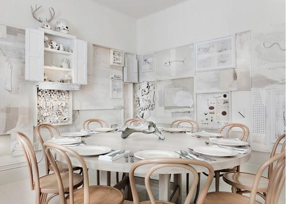 Restaurante mexicano é decorado com mais de 10 mil ossos de animais