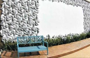 O projeto tem como proposta servir ao encontro e ao relaxamento. Um ambiente descontraído com leiaute flexível, que permite ao visitante utilizá-lo da forma que mais se sentir confortável. O espaço está preparado para receber diferentes eventos como palestras, mesas redondas, workshops e, como o nome diz, sessões de cinema. Designers brasileiros renomados estão presentes no ambiente no mobiliário e no mosaico da parede. - Paulo Augusto Campos