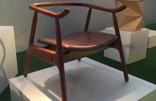 Poltrona Galante, design Eduardo Baroni, na mostra Be Brasil / Rio   Design