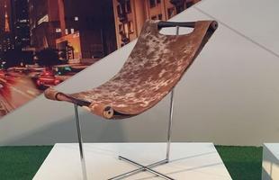 Cadeira Muu, design Gustavo Bittencourt, na mostra Be Brasil / Rio   Design