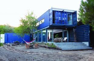 Casa contêiner na Espanha é 70% feita com material reciclado