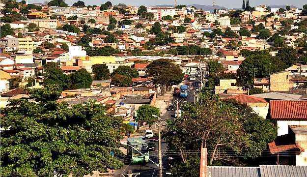 O bairro fica cerca de 20 mintuos da região central de Belo Horizonte (Eduardo Almeida/RA Studio)
