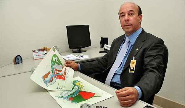 Celso Salles, diretor da Planta Netimóveis, diz que cidades como Jeceaba e Varginha já sentem diferença na negociação de loteamentos (Eduardo Almeida/RA Studio)