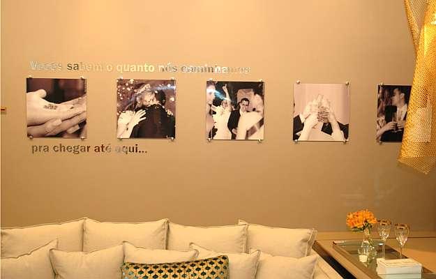 Sala de jantar dos amigos, projeto de Carolina Lage para a Casa Cor (Thiago Ventura/Portal Uai/D.A.Press)
