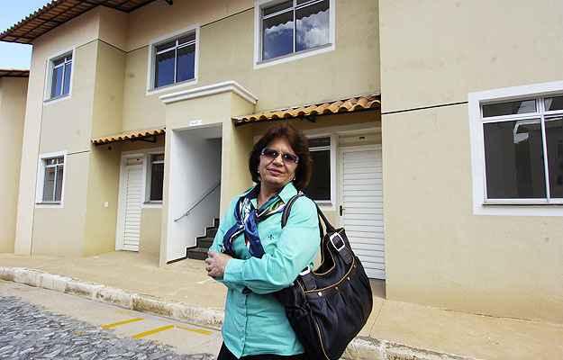 A advogada Santusa Simões adquiriu apartamento ainda na planta para investimento (Jair Amaral/EM/D.A Press)