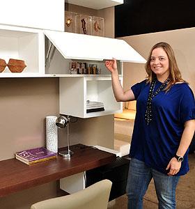 Al�m de resid�ncias, o recurso tamb�m pode ser usado em ambientes comerciais, pontua a arquiteta Renata Basques (Eduardo Almeida/RA Studio)