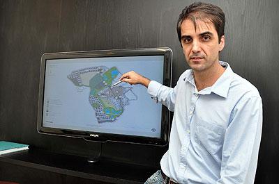 Arquiteto Júlio Tôrres destaca a possibilidade de avaliar o real potencial da área (Eduardo Almeida/RA Studio)