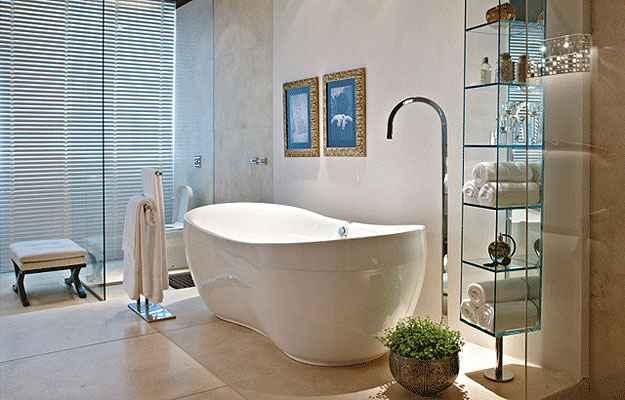 Banheira Armony: 180 x 90 x 65 cm / Preço: R$ 8.000 - Divulgação