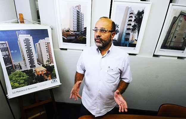 Para Jorge Luiz Oliveira de Almeida, diretor de comunicação social do Sinduscon-MG, a desconfiança natural dos mineiros exige mais das construtoras (Euler Júnior/EM/D.A Press)