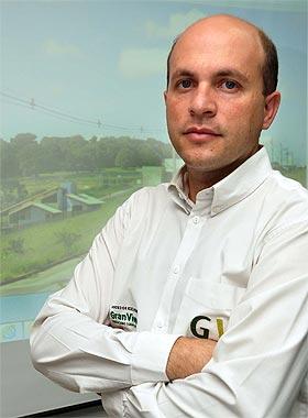Para o diretor de Vendas da Gran Viver, Marco T�lio Silva, a vantagem do lote � que n�o demanda grandes custos para manuten��o (Eduardo Almeida/RA Studio)