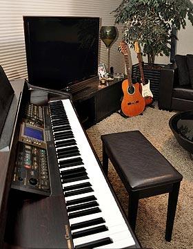 O piano funciona bem se os donos da casa gostam de m�sica cl�ssica ou rock'n'roll (Eduardo Almeida/RA Studio)