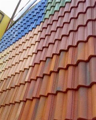 Qual tinta usar para pintar telha de ceramica
