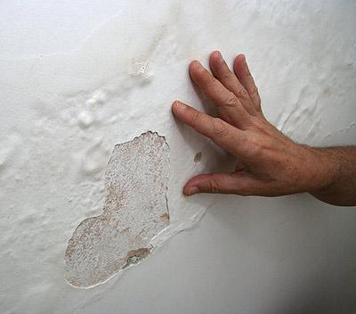O que fazer quando a parede esta com umidade