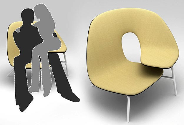 Inspirada num ato humano, a Hug Chair de Ilian Milinov - Ilian Milinov/Divulgação