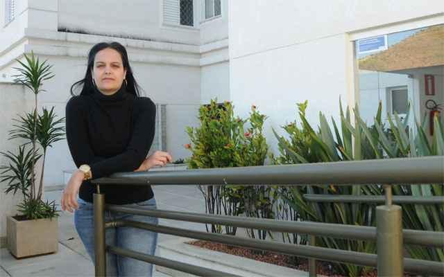 Romélia Cristine Castro dos Santos, odontóloga (Jair Amaral/EM/D.A Press)