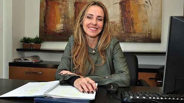 A corretora de imóveis Branca Tam Drumond cita como vantagem o acesso instantâneo aos limites de crédito elevados (Eduardo Almeida/RA Studio)
