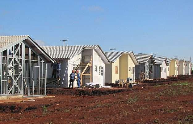 Construção a seco em Ponta Grossa (PR) com a utilização de mão de obra qualificada e bem treinada, gera redução de resíduos  (Saint-Gobain/Divulgação)