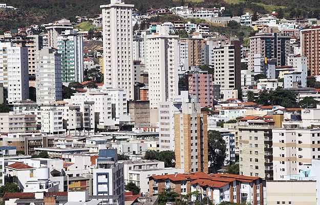 Vista do bairro Anchieta (Gladyston Rodrigues/EM/D.A Press)