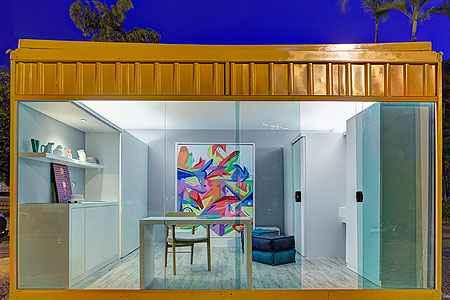Projeto da Casa Modular apresentado neste ano na mostra Morar Mais por Menos, de Willemberg Lobato, segue o mesmo conceito - Gustavo Xavier/Divulgação