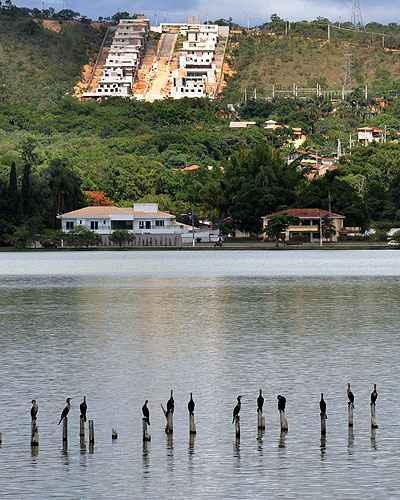 Lagoa Santa é uma das cidades da Grande BH que mais têm procura, devido à qualidade de vida, natureza e segurança (Eduardo de Almeida/RA Studio)