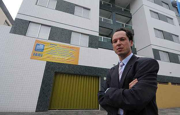 Rodrigo Coelho Ferreira, da Construtora Jari, aposta em empreendimentos de alto luxo fora da Zona Sul  (Beto Magalhães/EM/D.A Press )