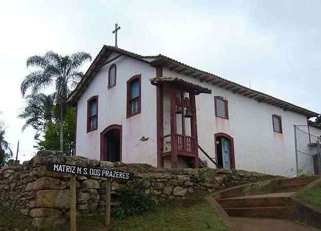 Através do IEPHA/MG, a O3L Arquitetura está desenvolvendo o projeto de restauração da Matriz de Nossa Senhora dos Prazeres, no distrito de Milho Verde, no Serro (O3L Arquitetura)