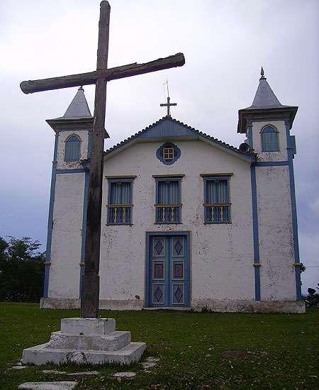 A Igreja Matriz de São Gonçalo, no distrito de São Gonçalo do Rio das Pedras, também no Serro, é outro exemplo de patrimônio que passa por processo de restauração, coordenado pela O3L Arquitetura, por meio do IEPHA/MG (O3L Arquitetura)