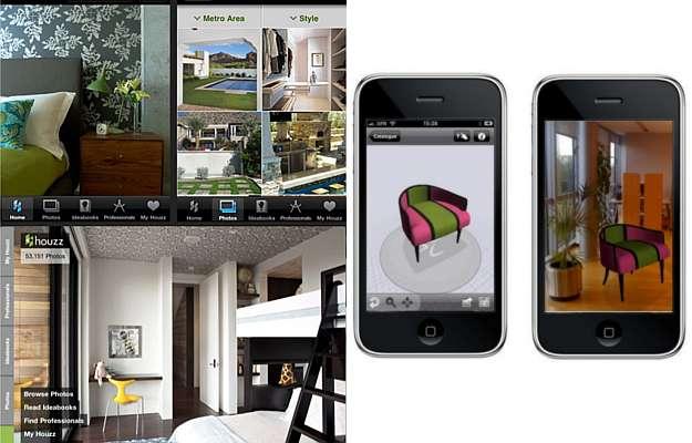 Aplicativos para tablets e smartphones ajudam a simular for Simulador de ambientes 3d