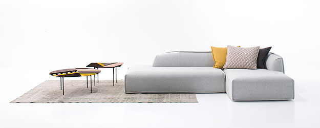 Nova linha Massas da Moroso desenhada pela prestigiada designer espanhola Patrícia Urquiola (Link Comunicação/Divulgação)