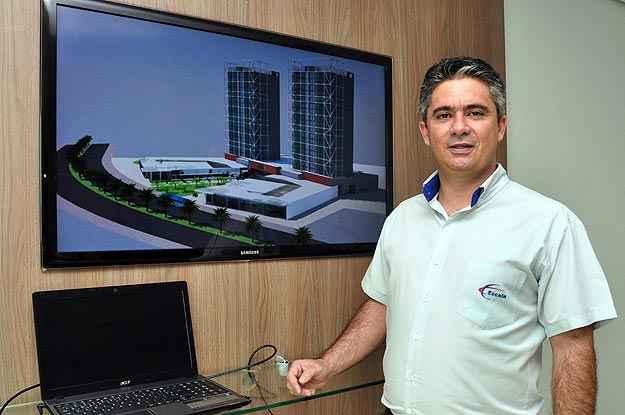 Para Adimilson Moura, gerente de Negócios da Construtora Escala, as perspectivas são bastante interessantes (Eduardo de Almeida/RA Studio)