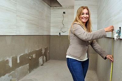 Ajuda profissional, segundo a arquiteta Cristina Morethson, evita desperdícios nas obras (EDUARDO DE ALMEIDA/RA STUDIO)