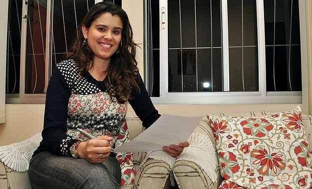 Com casamento marcado para agosto, a química Camilla Gonçalves Bof Silva optou pela compra de um apartamento na planta para morar  (Eduardo de Almeida/RA Studio)