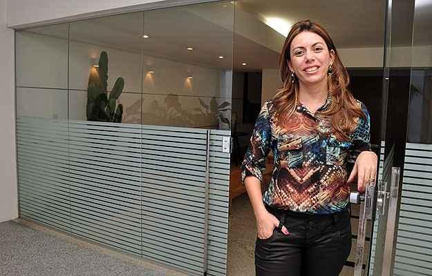 A empresária Ericka Viviane Vieira Franco de Abreu investe em imóveis novos pela valorização e para evitar problemas como reforma e depreciação (Eduardo de Almeida/RA Studio)