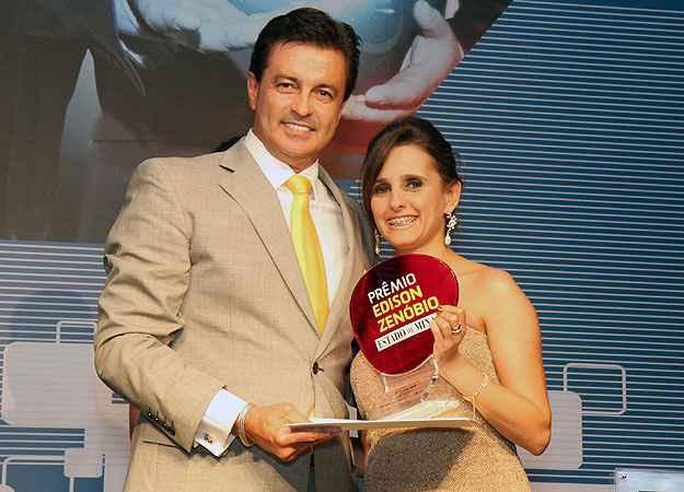 Luís Antônio Rodrigues, diretor-presidente da Lar Imóveis, que ganhou o primeiro lugar na categoria Imobiliárias e Corretoras  - Drika Vianna/Divulgação