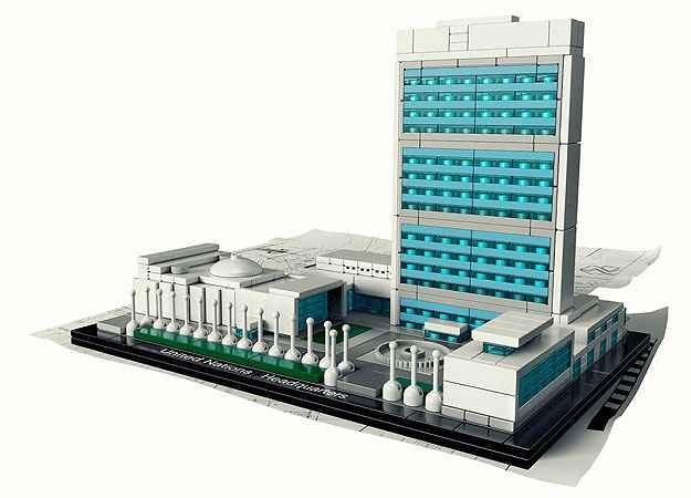 Sede das Nações Unidas - Lego/Divulgação