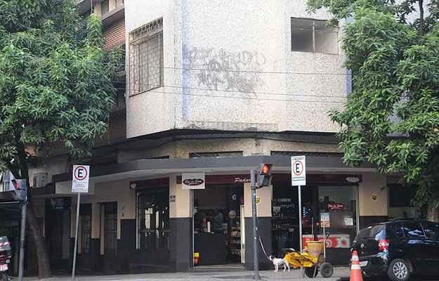 Não é raro encontrar em Belo Horizonte prédios residenciais com padarias embaixo (Paulo Filgueiras/EM/D.A Press)