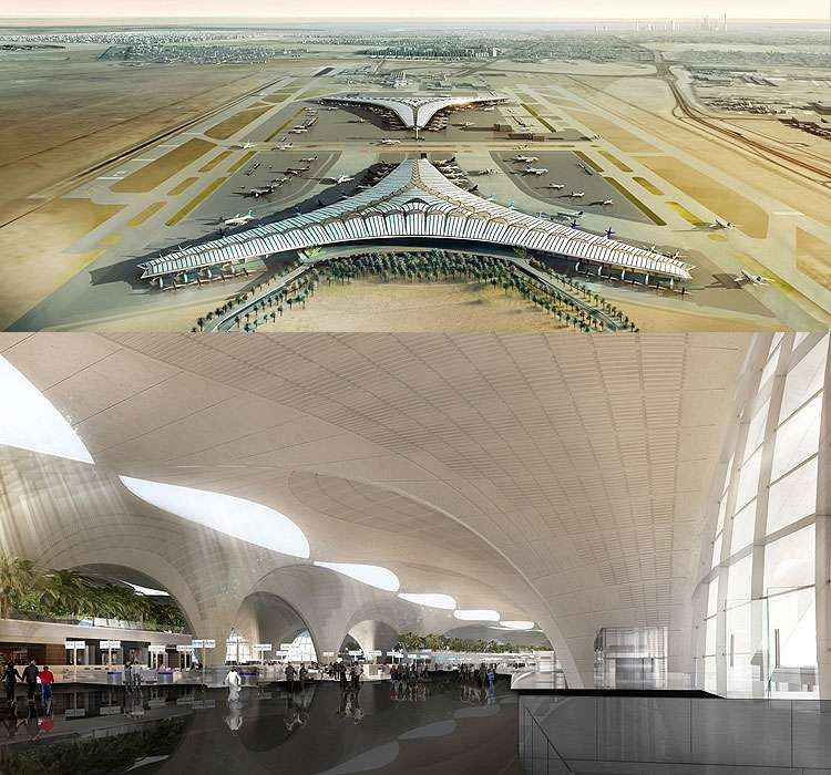 Aeroporto Kuwait : Aeroportos pelo mundo adotam soluções para se tornarem