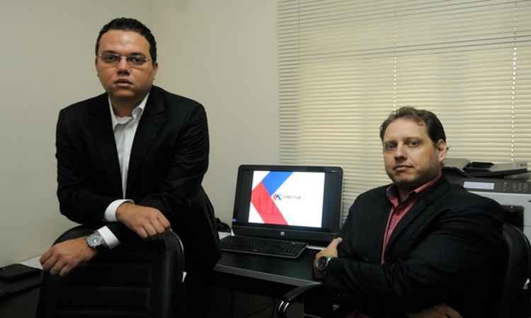 Para os diretores da Conectiva Administradora de Condomínios, Alexandre Marques e Ricardo Louback, o problema demanda procedimentos especializados - Jair Amaral/EM/D.A Press