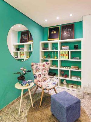 Depois: Depois de passar por decoração, imóvel foi vendido com mais facilidade - Osvaldo Castro/Divulgação