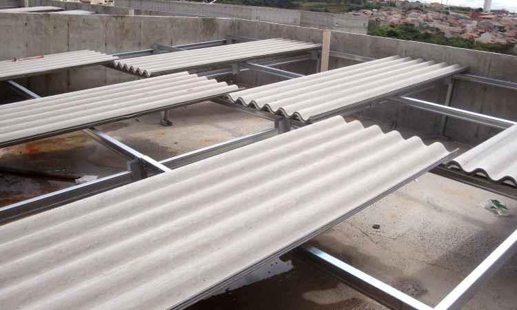 Conhe�a o LSF (Light Steel Frame), modelo de telhado f�cil e barato de montar