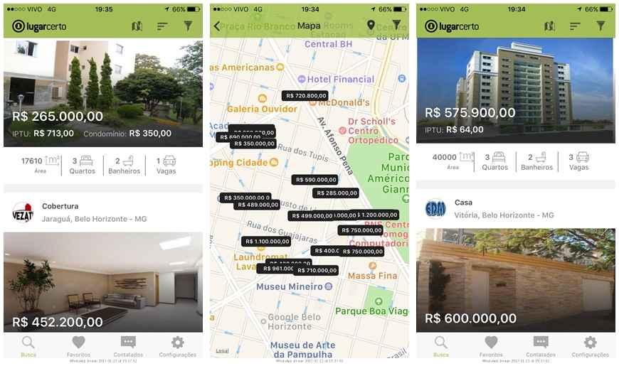 Na ponta dos dedos: novo aplicativo do Lugar Certo vai te ajudar a encontrar seu imóvel