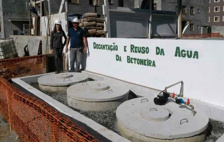 Construtora implanta sistemas para reaproveitamento e coleta de água