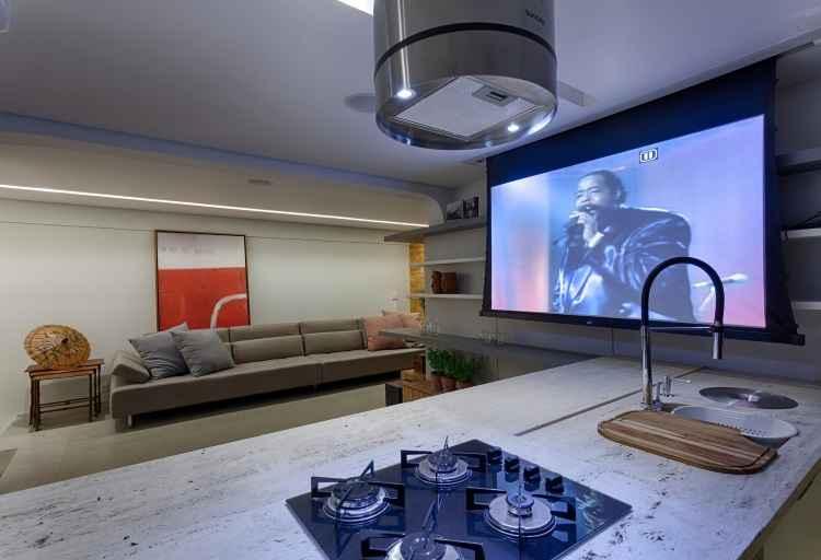 Projetos contemplam espaços para quem gosta de receber e dar festas em casa