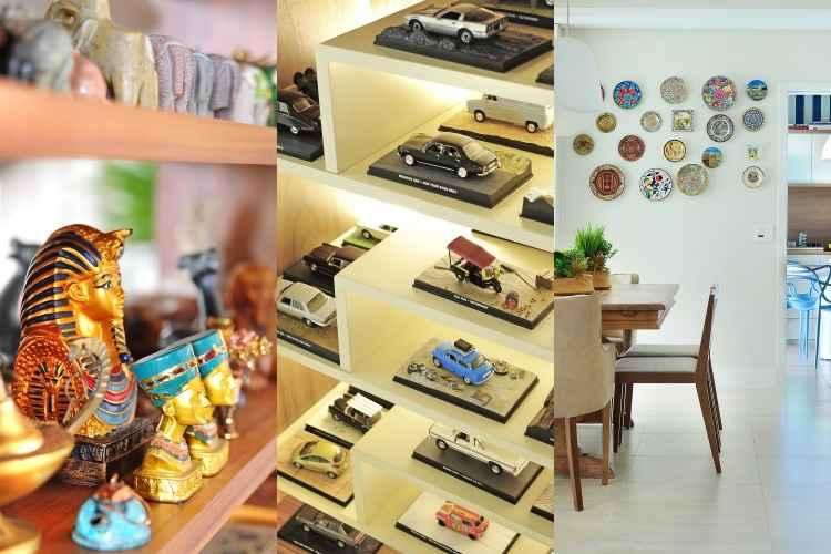 Com ritmo e harmonia, sem exageros, coleções ganham protagonismo na decoração da casa