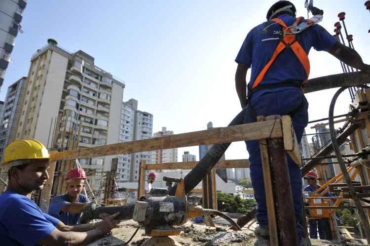 Construção civil tem sinais de otimismo quanto a reação do mercado