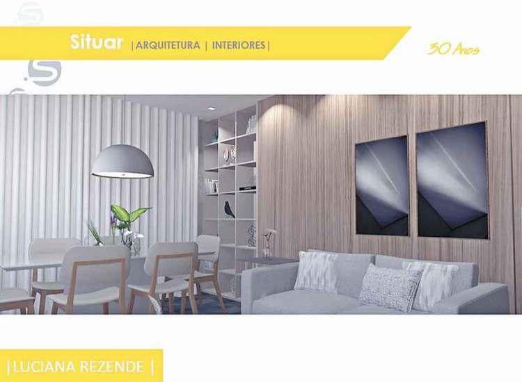 Imagens do projeto para uma sala multiuso, que serve de apoio tanto para a sala íntima quanto para a de jantar. São dois espaços e - Situar Projetos/Divulgação